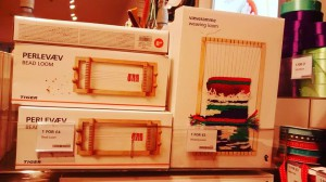 boxed weaving and bead looms