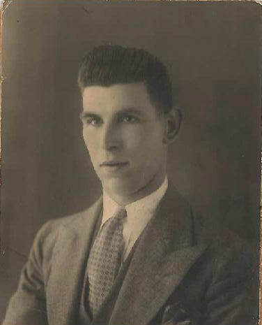 Frank Miles, courtesy of Dawn McCarroll.