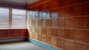 Stunning wood panelled room with...