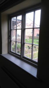 Window onto Weaver's House Garden