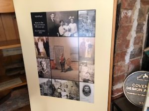 poster of old photos of Sid O' Neil and family