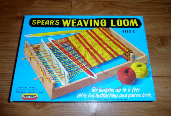 A Spears Weaving Loom toy. Picture: Empire Antiques/Etsy.