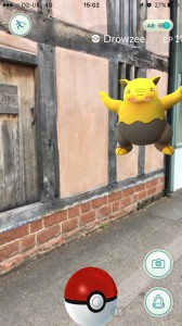 A Drowsee outside The Weaver's House
