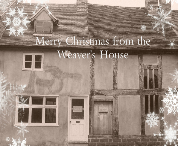 The Weaver's House with snowflake effect