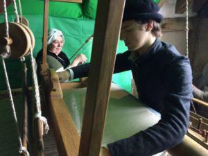 working the replica loom