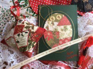 A patchwork of festive fabrics