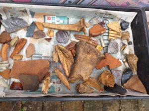 Bones, bricks and small fragments